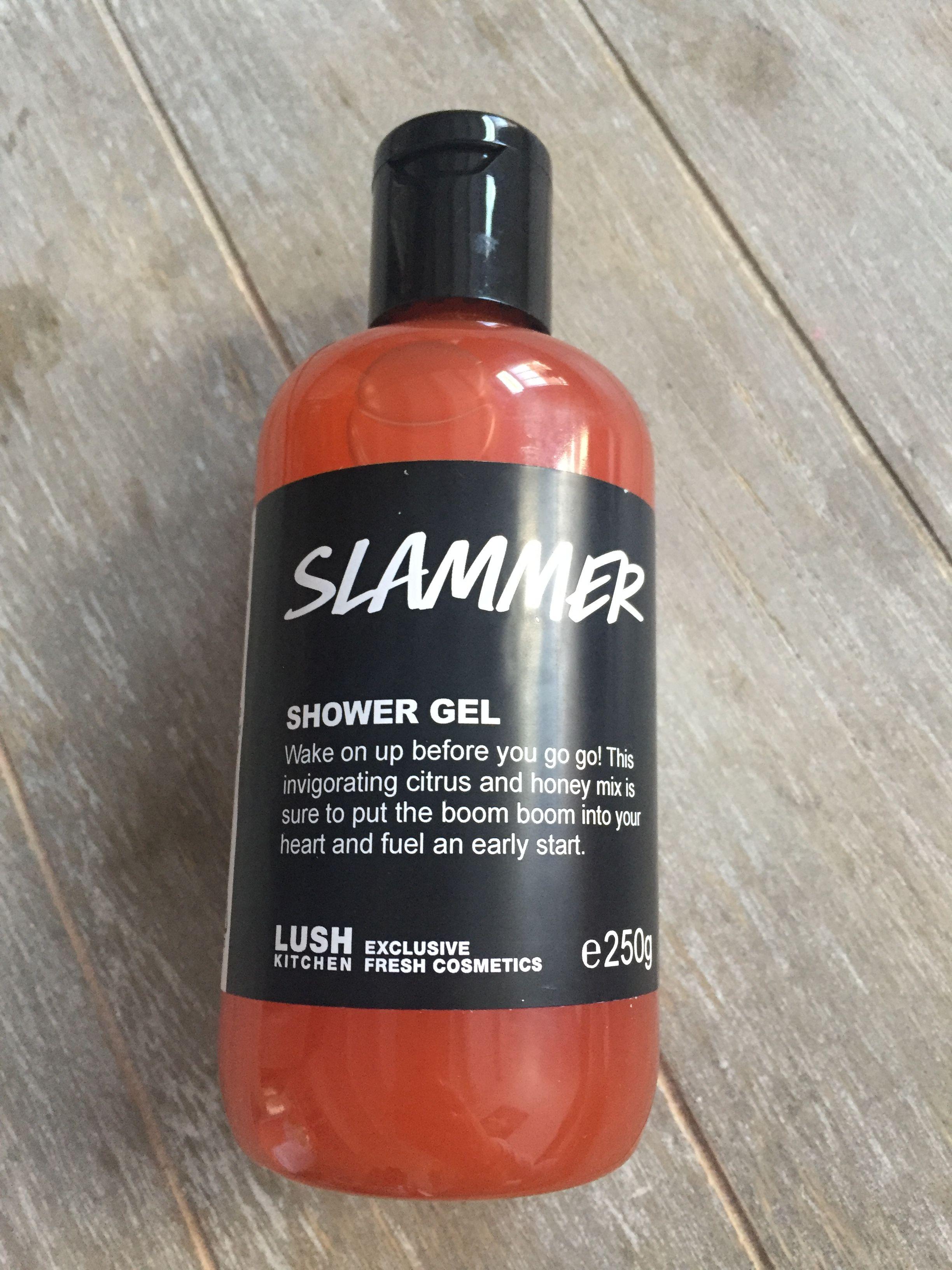 Slammer showergel lush kitchen exclusive | Lush shower gel ...