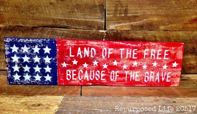 17 Patriotic Diy Veterans Day Decoration Ideas You Can Use As Gifts Patriotic Diy Veterans Day Gifts Gifts For Veterans