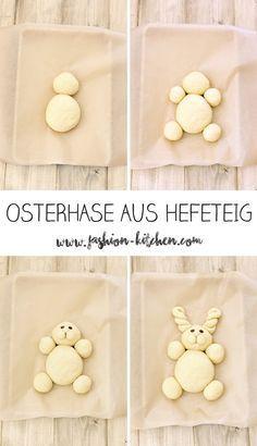 süßer Osterhase aus Hefeteig - Fashion Kitchen #fashion