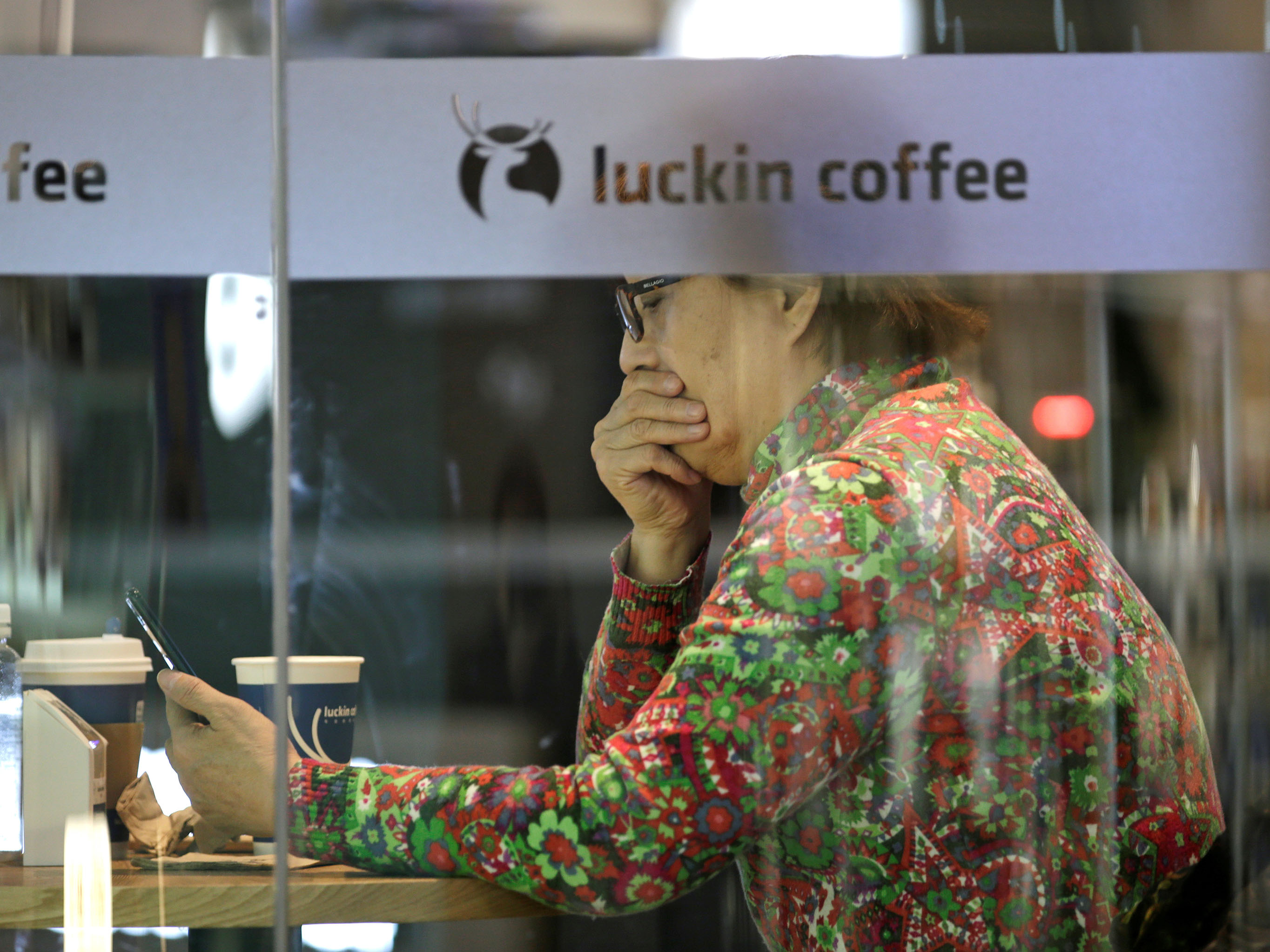 Starbucks rival Luckin Coffee faked nearly half of its