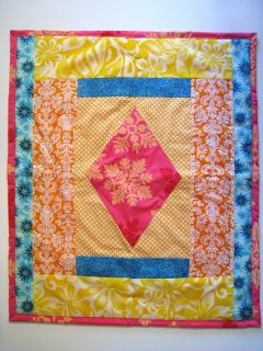 """""""Chloe"""" - little handcrafted tie quilt for baby www.tessawilloughby.com"""
