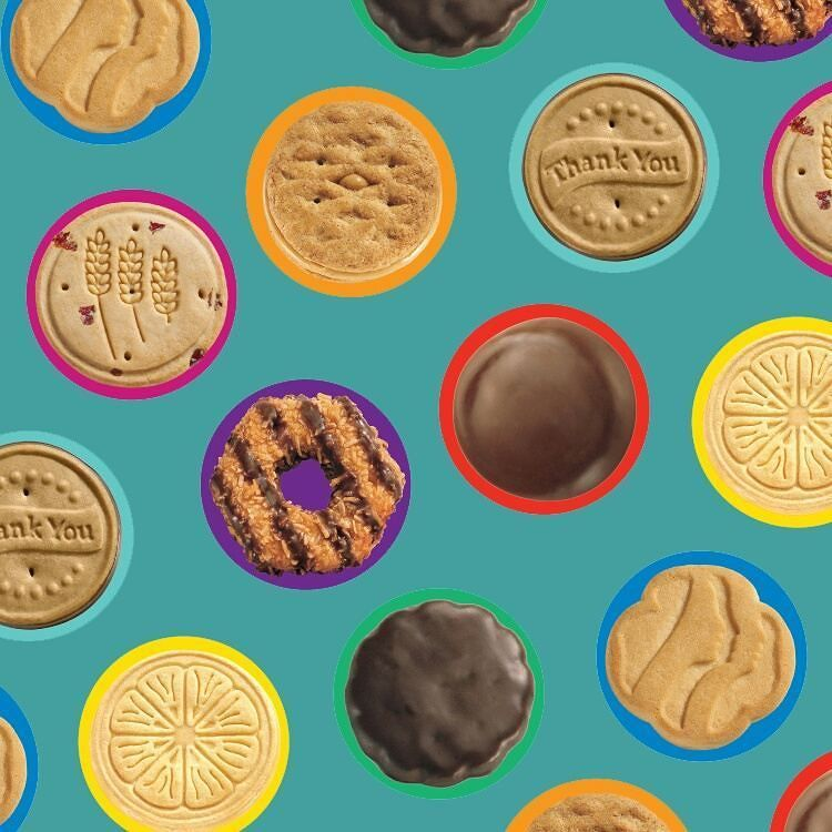 Samoas Tagalongs Thin Mints... DROOL Nothing beats a box of Girl Scout cookies. Which is your favorite? #Vocalpoint