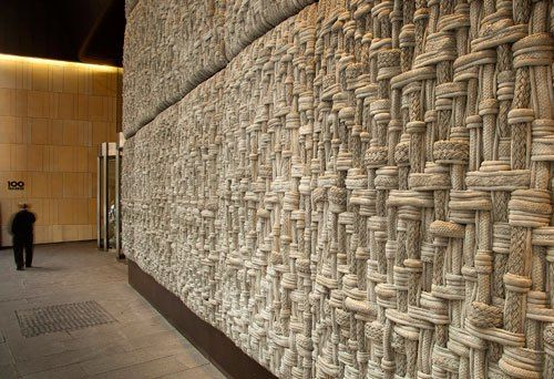 Uap Westfield Rope Pattern Facade 10 Concrete Wall Panels Architecture Wall Design