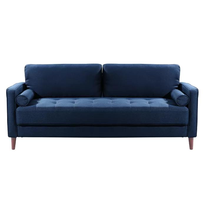 Garren 75 6 Square Arm Sofa In 2020 Sofa Sofa Upholstery Sofa Review