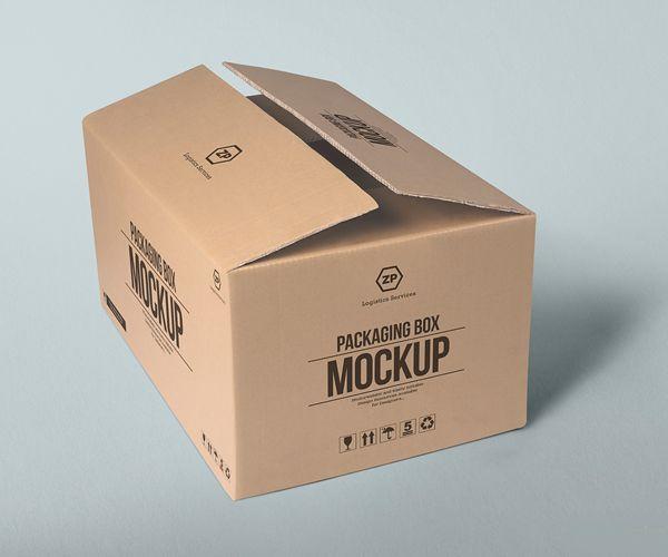 Free Packaging Box Mockups