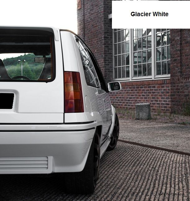 Renault 5 Gt Turbo Phase 2 Glacier White Renault 5 Renault 5 Gt Turbo Renault