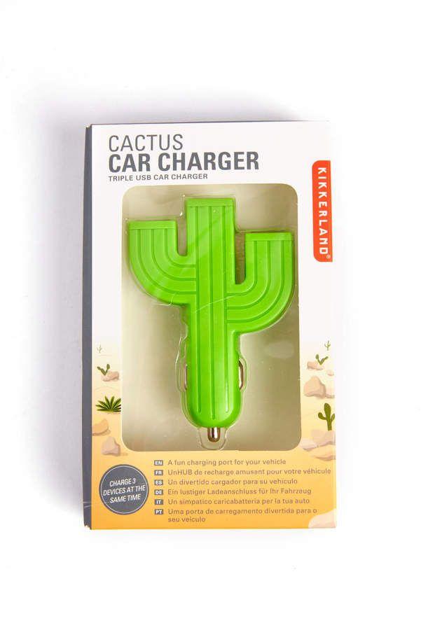Cactus Triple USB Car Charger