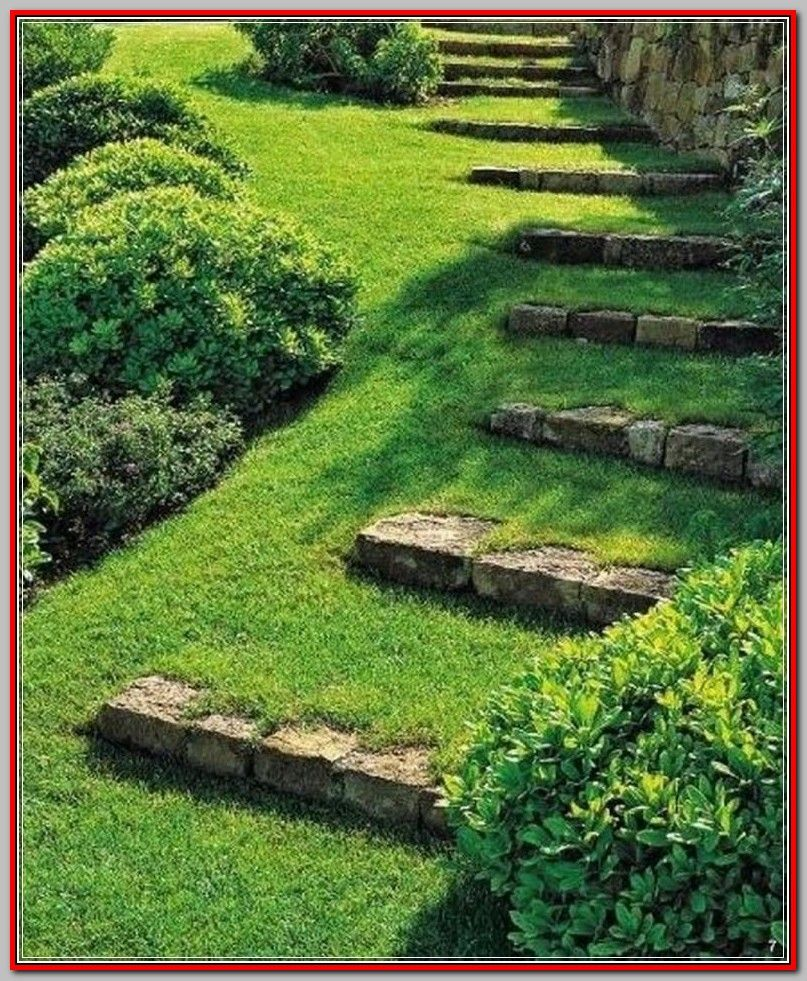 Developing Backyard Landscaping Ideas Can Seem Subsequently A Huge Project But Coming In In 2020 Landscaping On A Hill Backyard Landscaping Small Backyard Landscaping