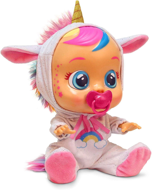 Cry Babies Dreamy The Unicorn Unicorn Toy Dream Toy In 2020 Unicorn Toys Baby Alive Cry Baby