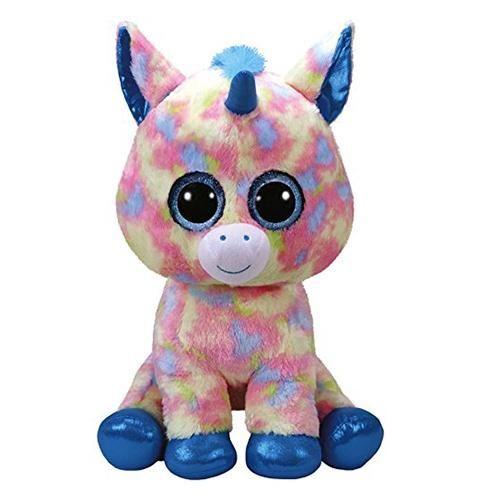 2bad672f3 TY Beanie Boos Blitz Blue Unicorn Large - 16