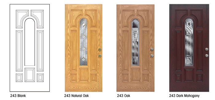 Feldco entry doors are available in a variety of styles and color combinations for each type & Feldco entry doors are available in a variety of styles and color ...