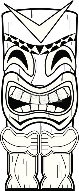 Totem Pole Coloring Pages Free View Similar Images More
