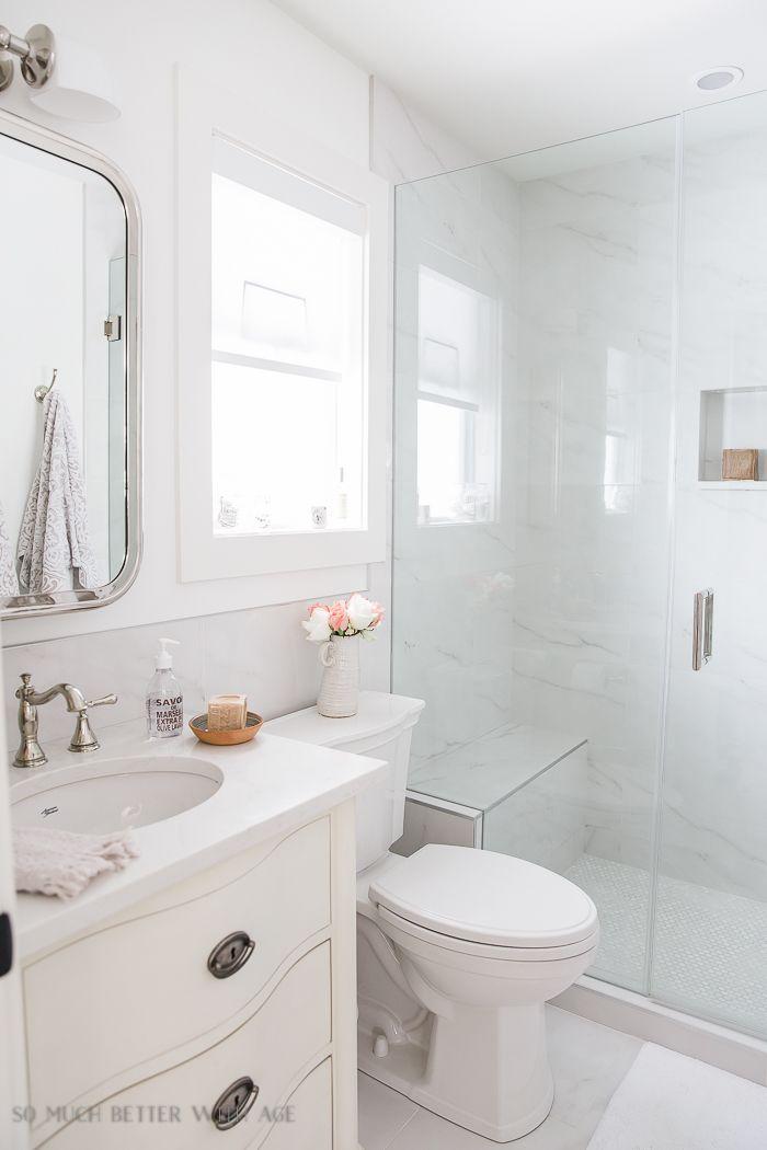 small bathroom renovation and 13 tips to make it feel on bathroom renovation ideas white id=24512