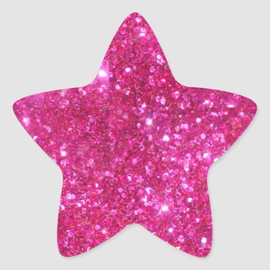 Pink Glitter Heart Heart Sticker Zazzle Com In 2021 Glitter Hearts Glitter Stickers Green Glitter