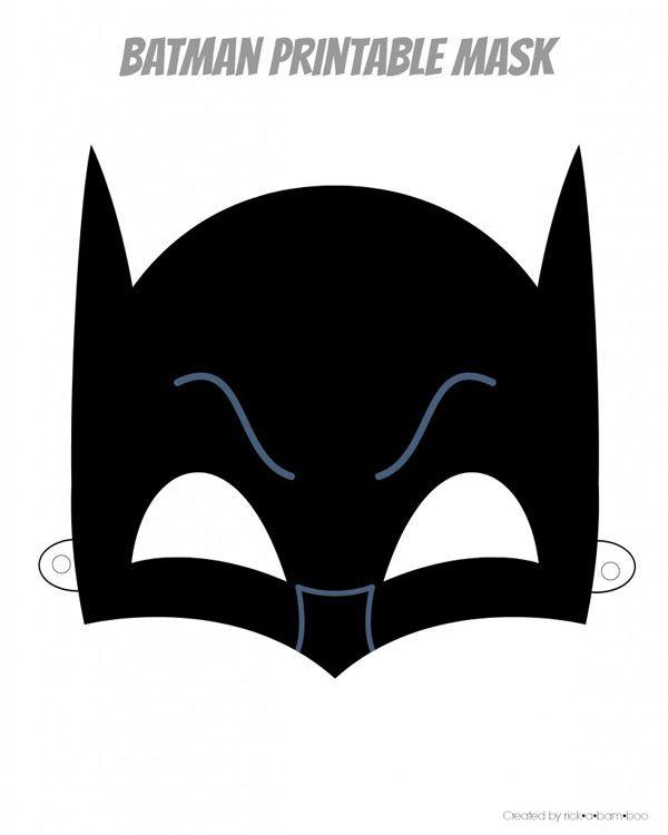 Easy Superhero Mask Template (FREE!!) DIY and crafts Superhero