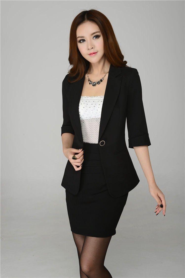 Ropa y moda para mujer ejecutiva para la oficina for Trajes para oficina