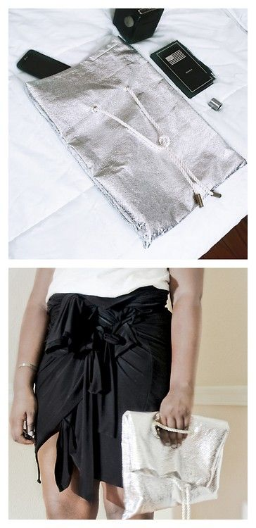 DIY Fold Over Bag (With images) | Sewing inspiration ...