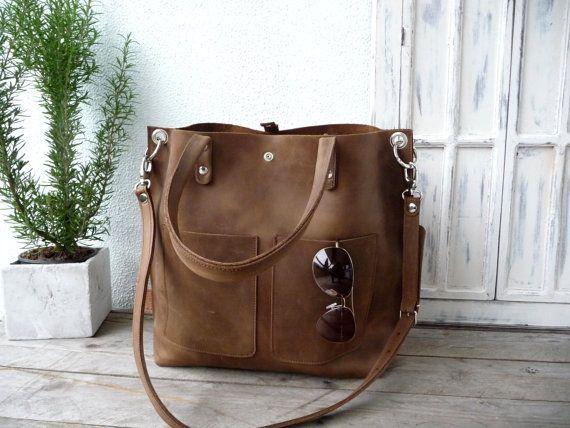 cf36527cec Large leather bag