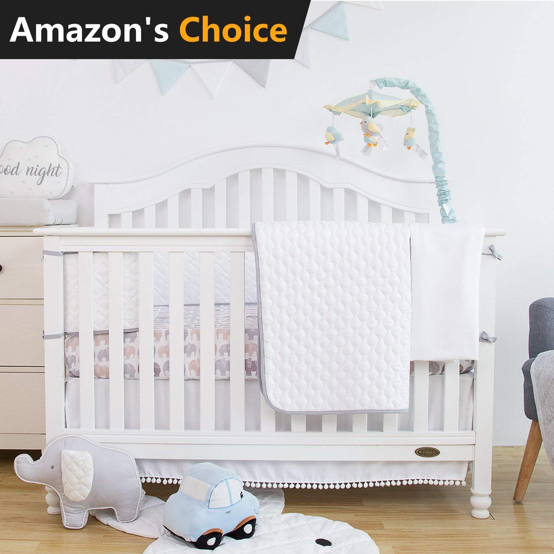 Microfiber Crib Bedding Set Per