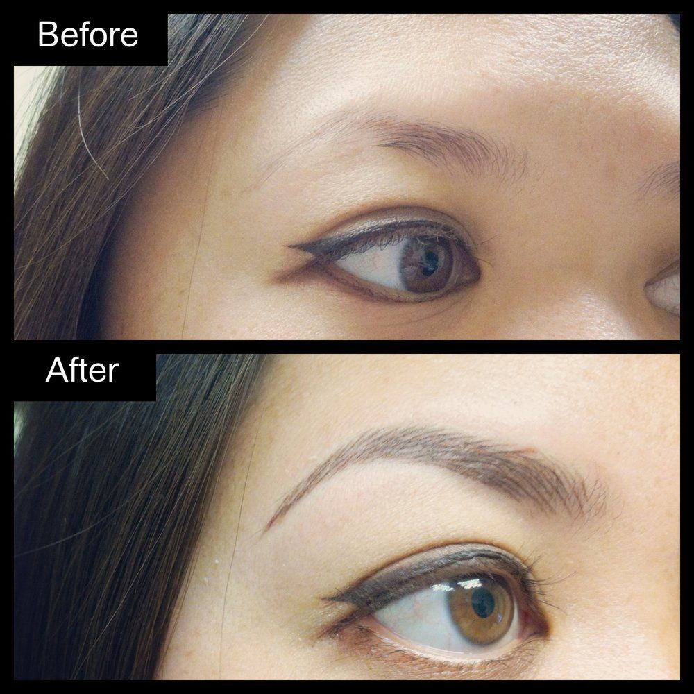 hair stroke permanent eyebrows - Google Search | tattoo Brows ...