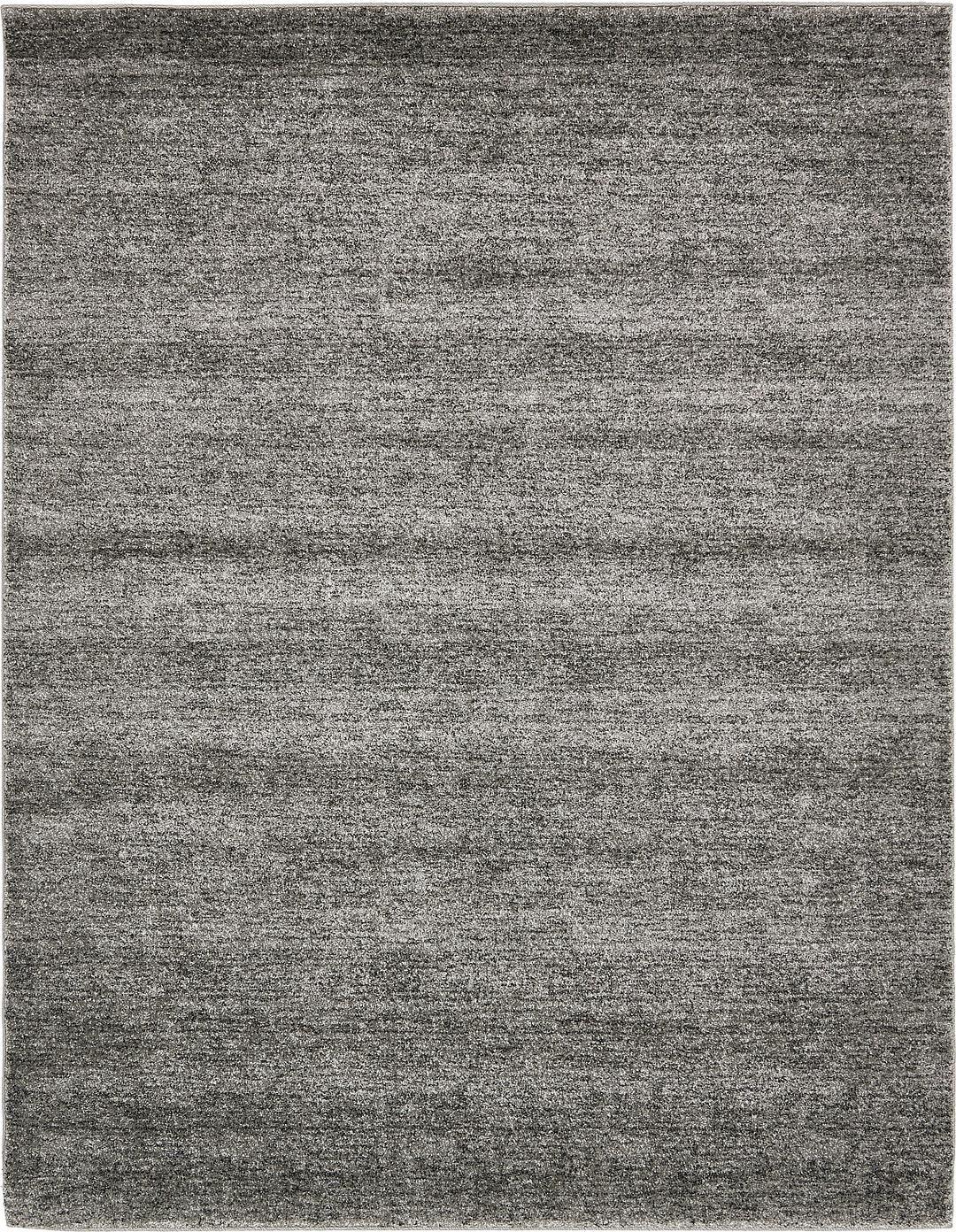 Dark Gray 8 X 10 Solitaire Frieze Rug Area Rugs Erugs