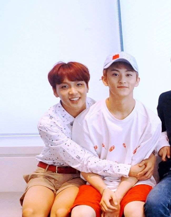 Haechan and Mark | 엔시티 | Nct, Nct dream, Nct 127