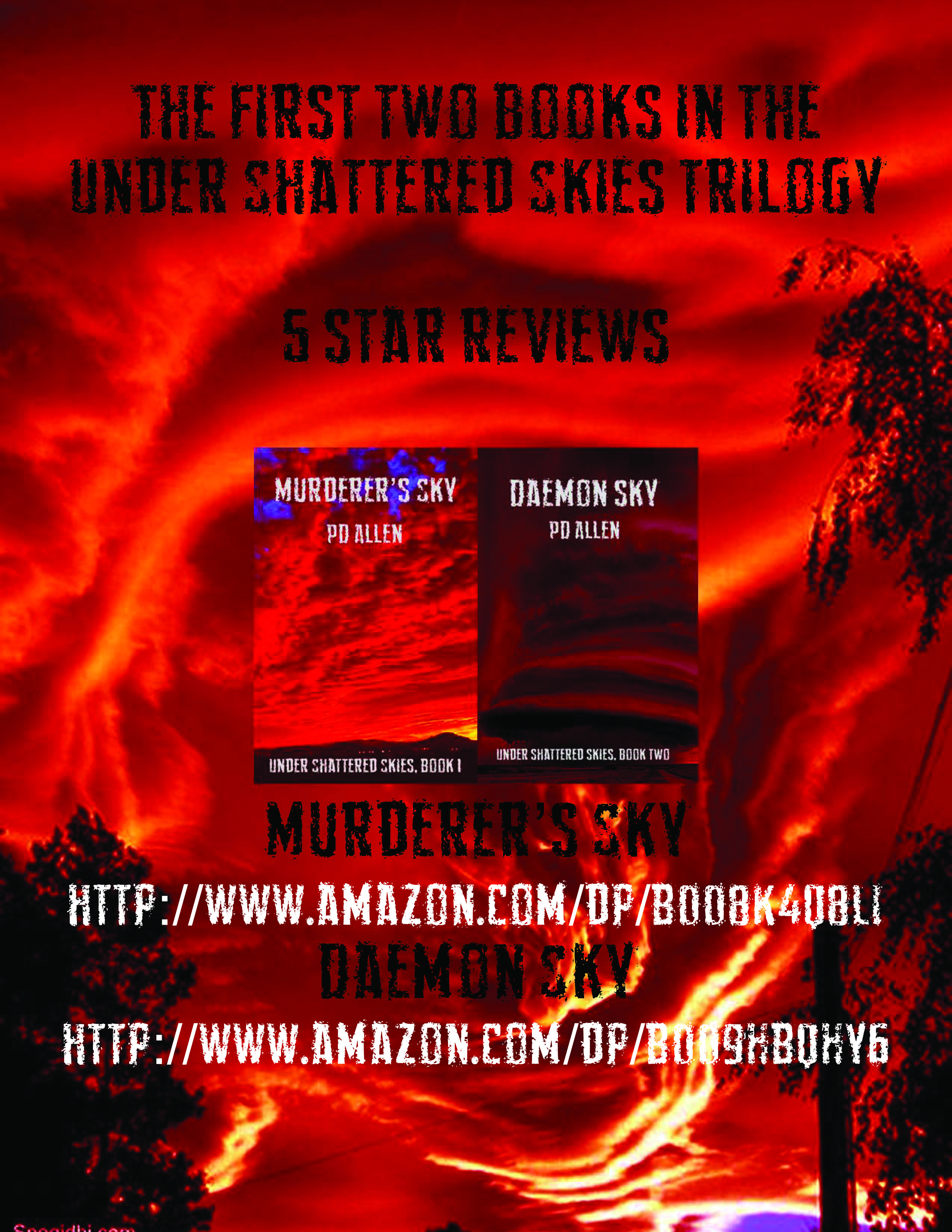 Daemon Sky: Book Two of Under Shattered Skies