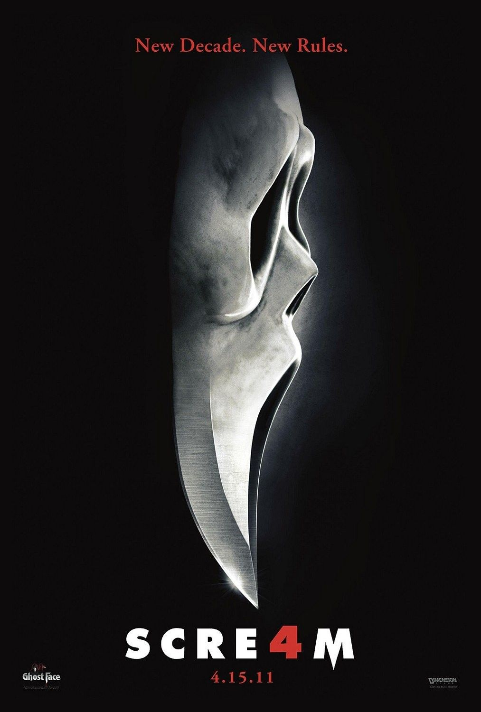 scream movie poster font
