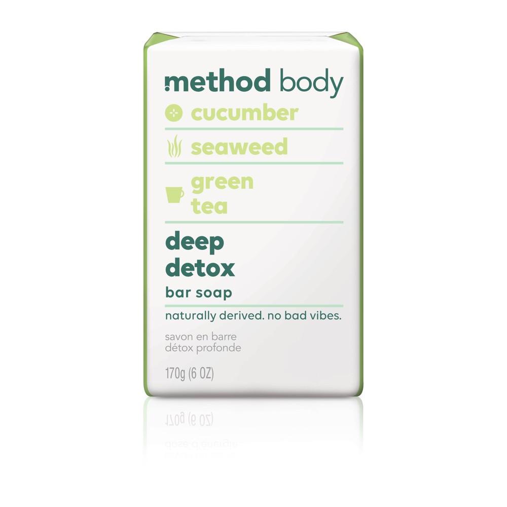 Method Bar Soap Deep Detox - 6oz