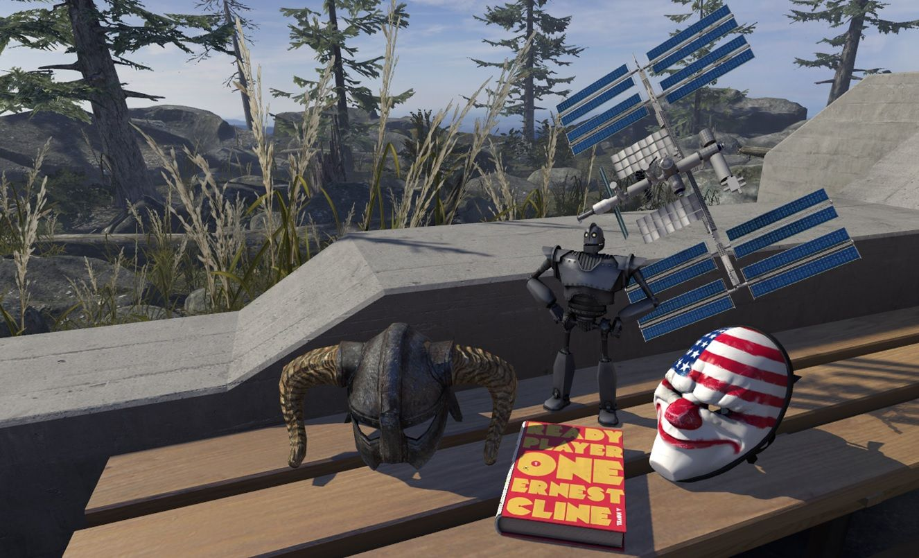 Skyrim Vr Ready Player One Collectibles Come To Steamvr Home New Steamvr Collectibles Added This Week Include A Helm Ready Player One Skyrim Collectibles