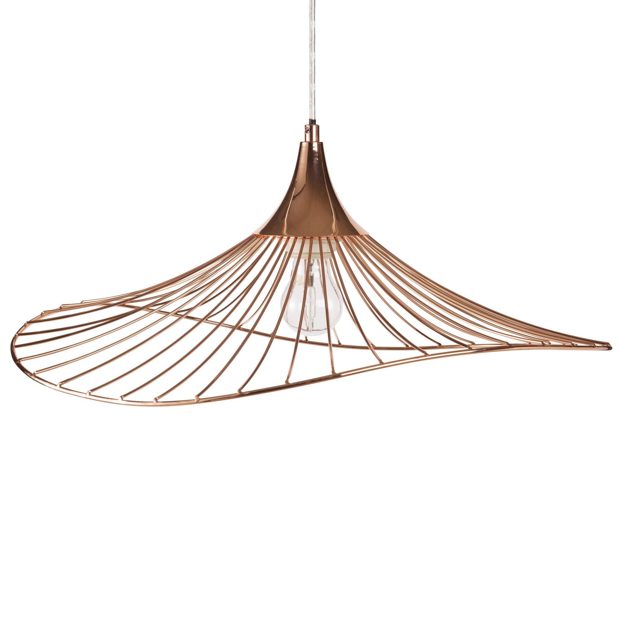 Suspension Cuivre Pas Cher Suspension Filaire En Métal Cuivré En 2019 Atc Copper Lighting