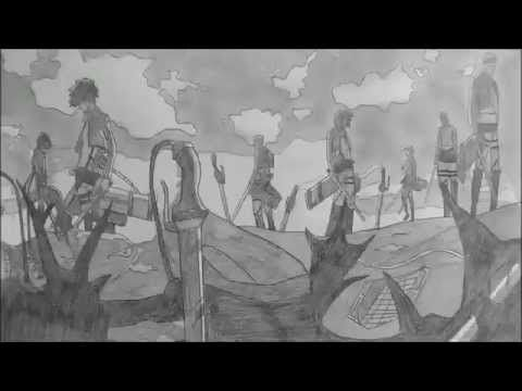 Attack On Titan Opening In Pencil