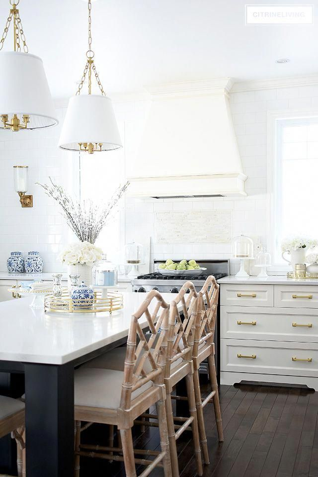 Colorful Kitchen Supplies: Gorgeous Kitchen With Spring Accents