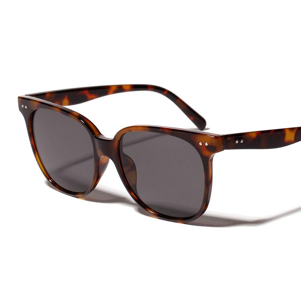 f1209dae0c6 Peekaboo black square sunglasses women 2019 orange leopard sun glasses for  women gradient uv400 transparent frame  sunglasses  square  shades  gift