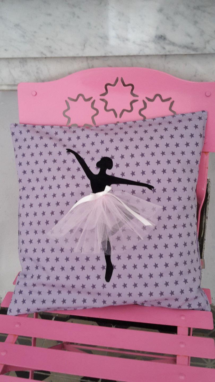 Chambre Danseuse Etoile intérieur housse de coussin motif danseuse �toile pour chambre d'enfant