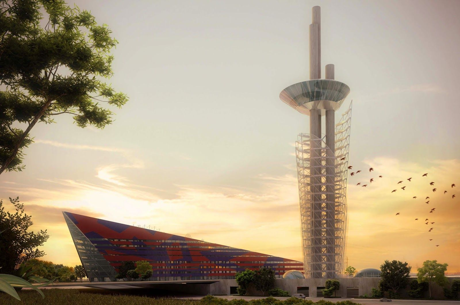 Livin Spaces Kissing The Sky The Millennium Tower And Cultural Tower Cultural Center Abuja
