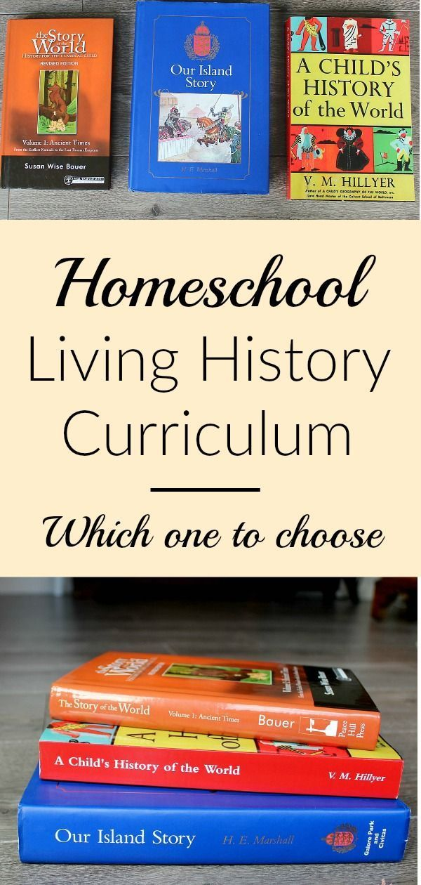 Homeschool History | Living Books and Curriculum Options -