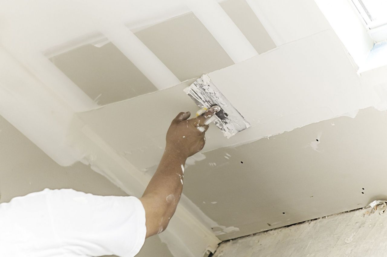 How to Repair Plaster Ceiling in 2020 Drywall ceiling