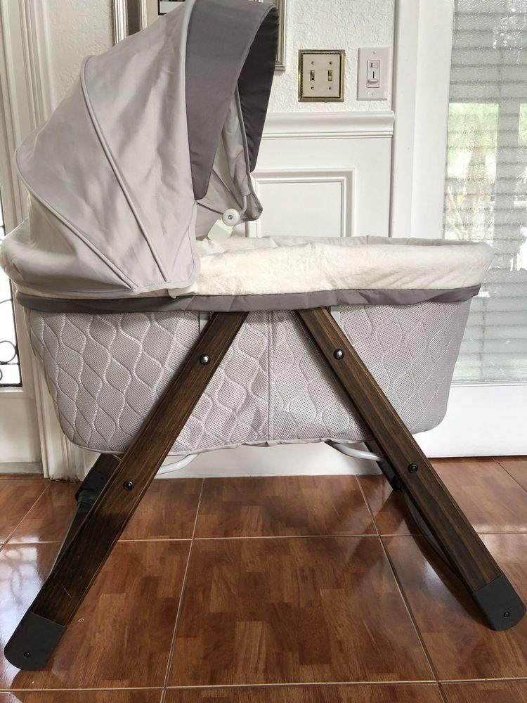 Wood Binet Baby Cradle Bed Nursery Furniture Crib Cherry