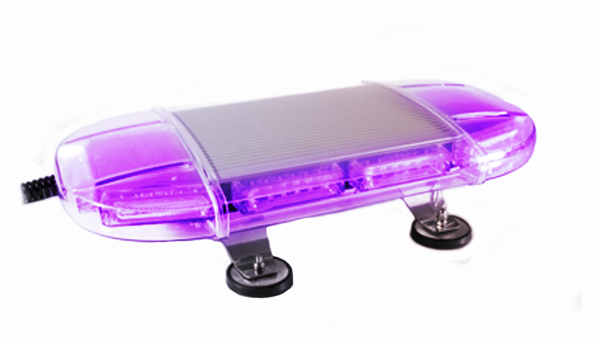 Limelight In Purple Police Lights Led Warning Lights