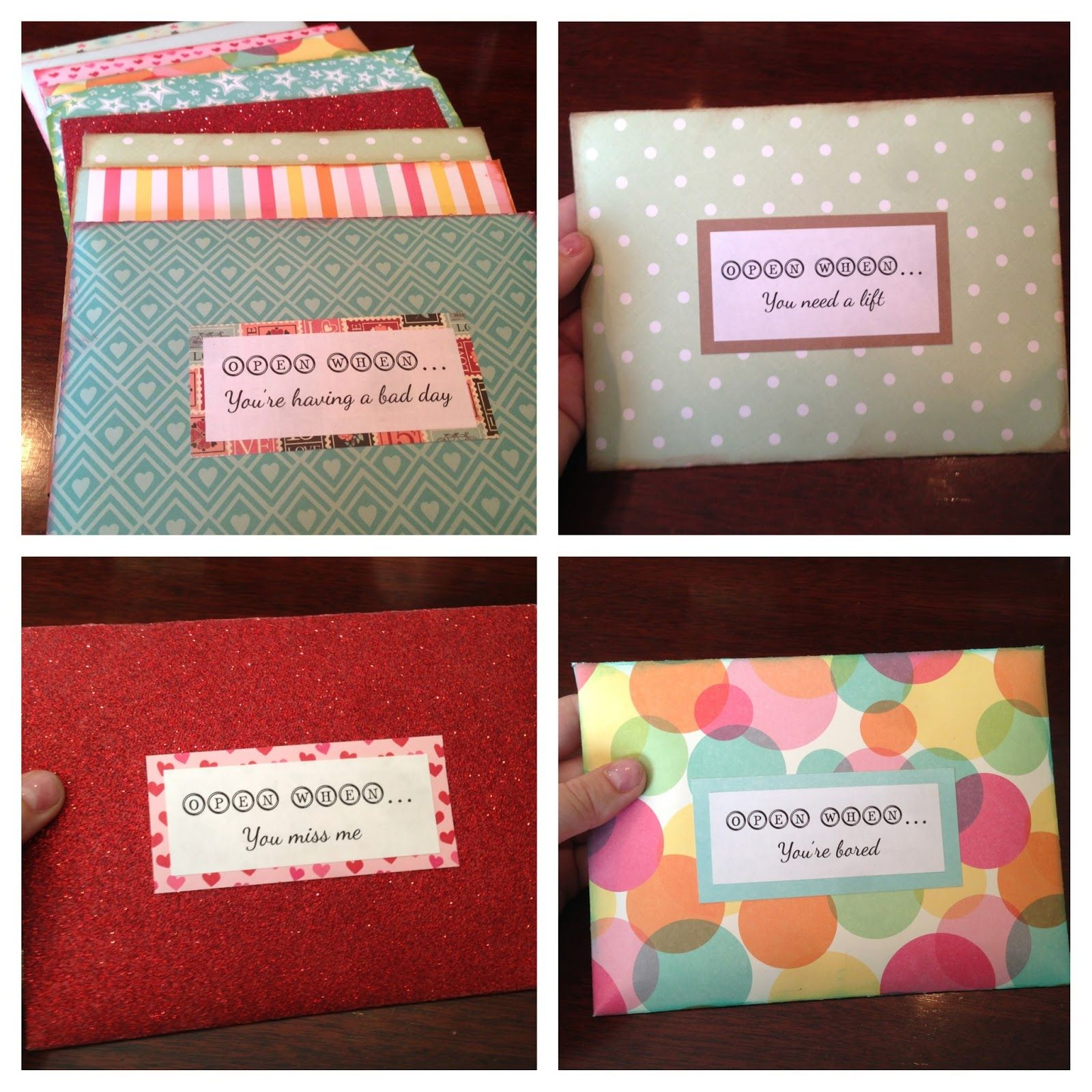 Open When Envelopes For Your Best Friend: I Solemnly Swear That I Am Up To No Good: Open When