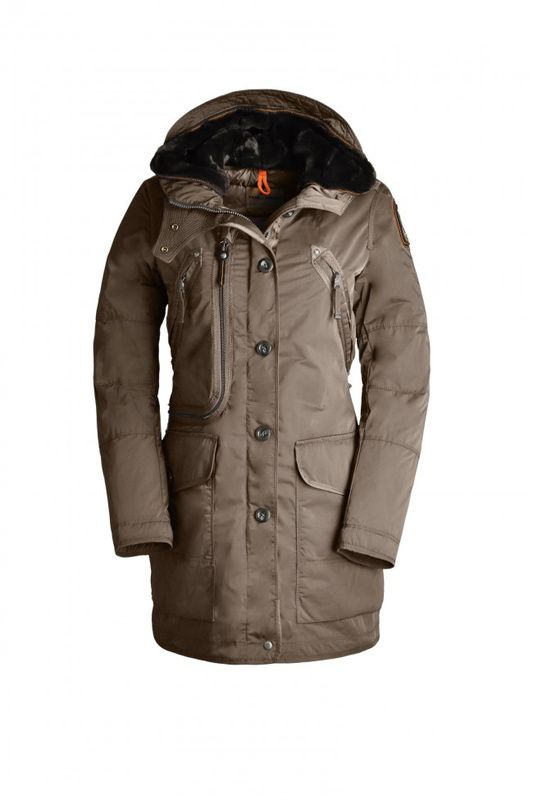 Parajumpers Adirondack Coat Womens Brown New York | Parajumpers 2018 | Pinterest