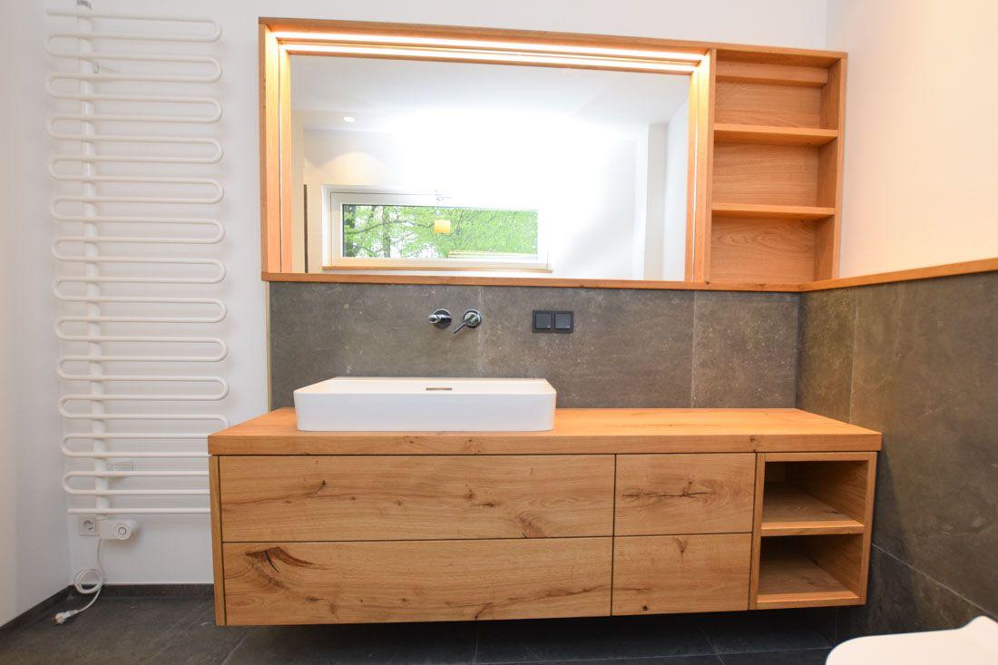 Waschtisch Eiche Astig Badezimmerideen Kleines Wc Zimmer