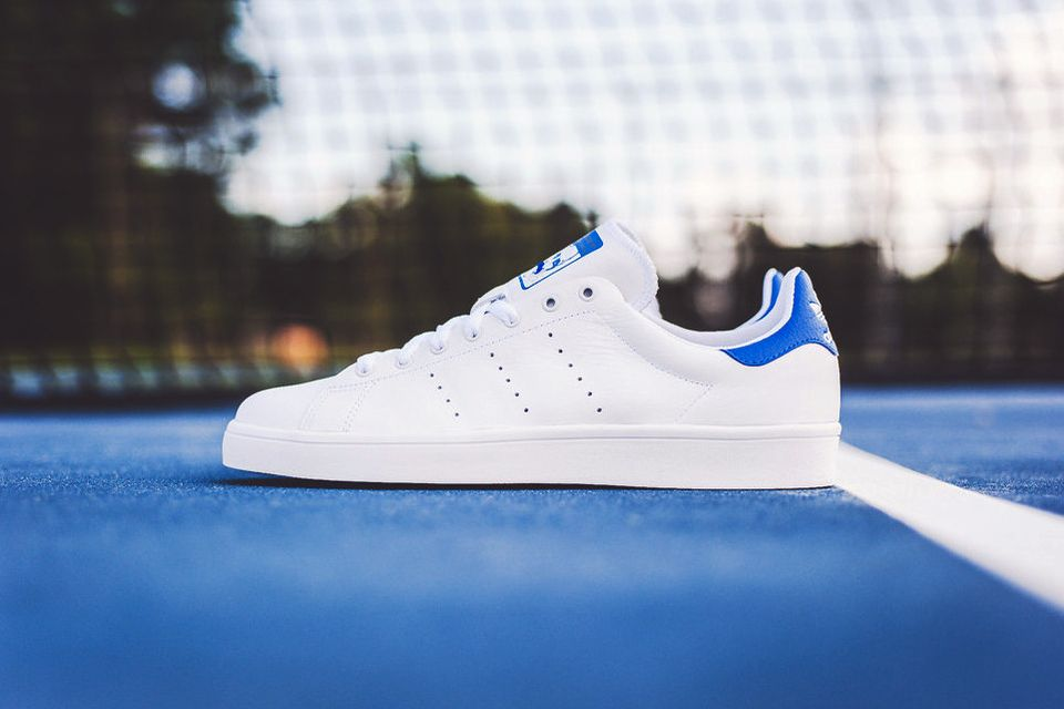 cheap for discount b76be ea274 adidas Stan Smith Vulc White/Royal | Footwear | Adidas stan ...