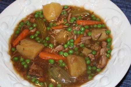 Bowl of Irish stew