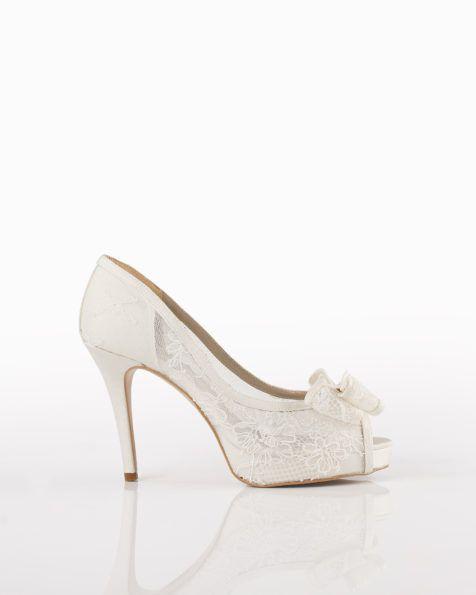 aire barcelona - zapatos de novia   moda en blanco en 2018