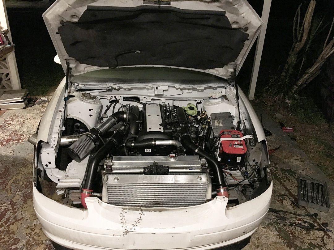 Rwd 2001 Ford Taurus With A Turbo 1jz Inline Six Engine Swap