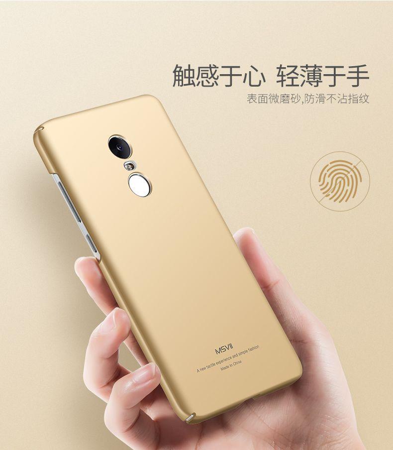 Luxury Case For Xiaomi Redmi Note 4x Pro 4g Ram 64g Rom Hard Pc Scrub Back Cover For Xiomi Redmi Note4x Pro Cases