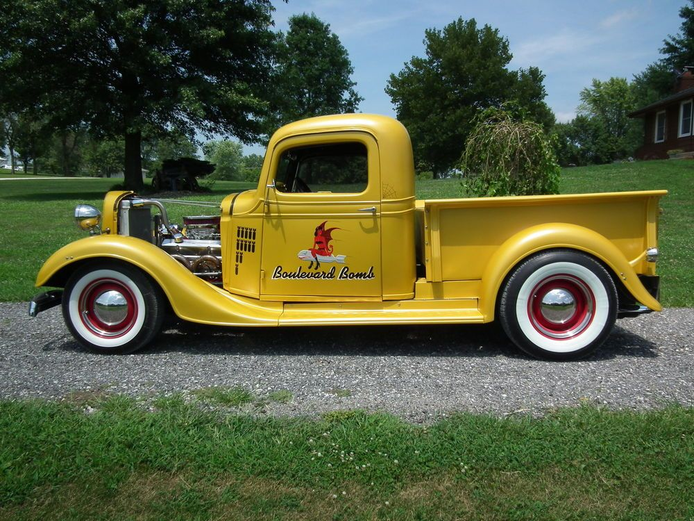 1936 Chevrolet Other Pickups Pickup 1936 Chevy Truck Street Rod