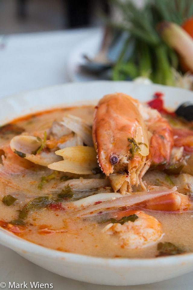 Thai Tom Yum Soup Recipe (ต้มยำกุ้ง) - Authentic Thai Style - http://www.eatingthaifood.com/2014/08/tom-yum-soup-recipe/